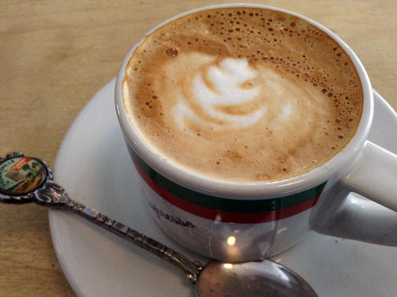 Café Melbourne - Espresso et 4oz de lait